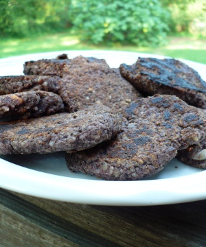 Black Bean Sausage Patties