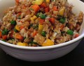 gluten free fried brown rice recipe