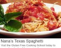 gluten free texas spaghetti recipe