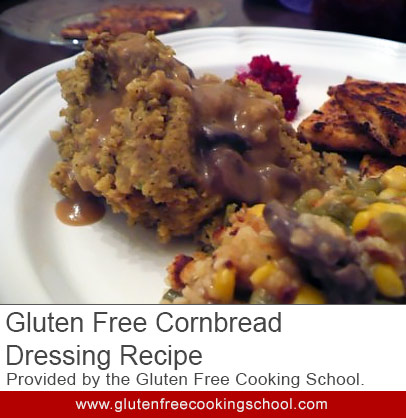 Gluten Free Cornbread Dressing Recipe ~ Recipe from The Gluten-Free ...