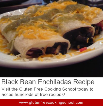 gluten free black bean enchiladas recipe