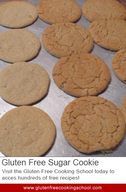 To Cream or Not: Gluten Free Sugar Cookie Recipe