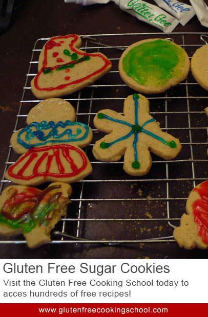 gluten free sugar cookies recipe