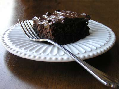 Gluten Free Mommy's No Frills Chocolate Cake
