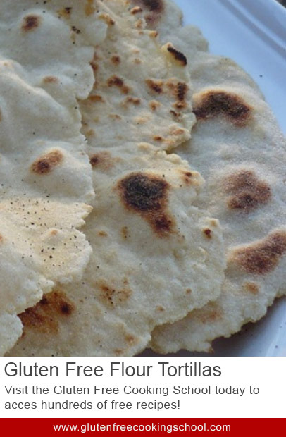 Gluten-Free Flour Tortillas Recipe — Dishmaps
