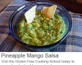 gluten free pineapple mango salsa recipe