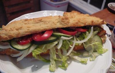 Gluten Free Bread: Submarine Rolls