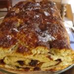 Gluten Free Cinnamon Raisin Swirl Bread
