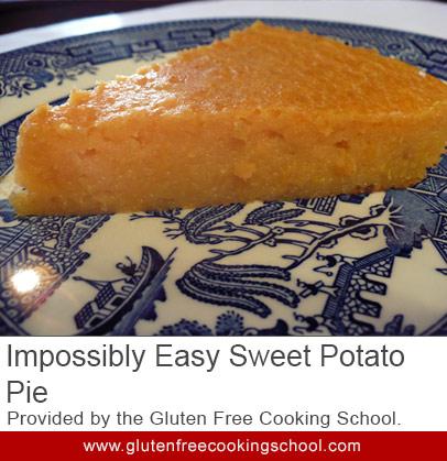 gluten free easy sweet potato pie recipe