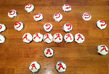 gluten free cupcake recipe for frosting letter fun