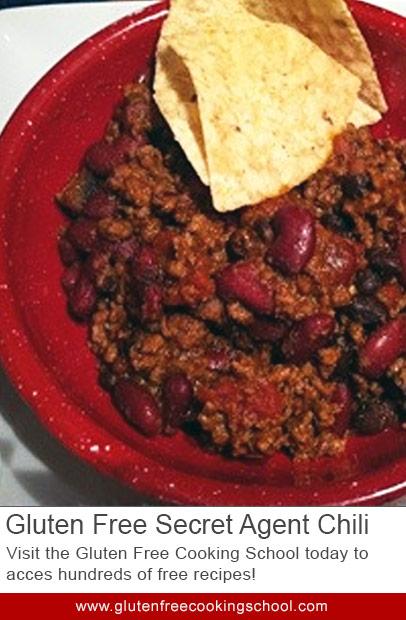 gluten free chili recipe