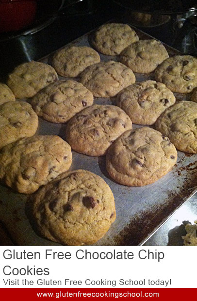 Gluten Free Chocolate Chip Cookies – Made From Scratch! ~ Recipe ...