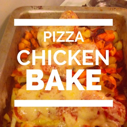 pizza chicken bake