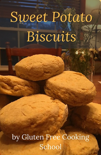 gluten free sweet potato biscuit